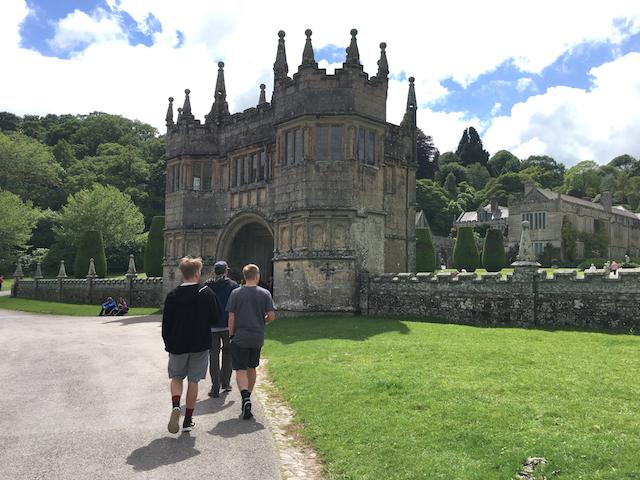 Walking into Lanhydrock, Cornwall, United Kingdom