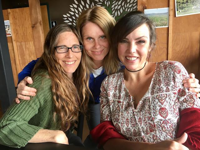 My friends, Emily, Andi & I, Galilee Grill & Bakery, Lindon, Utah